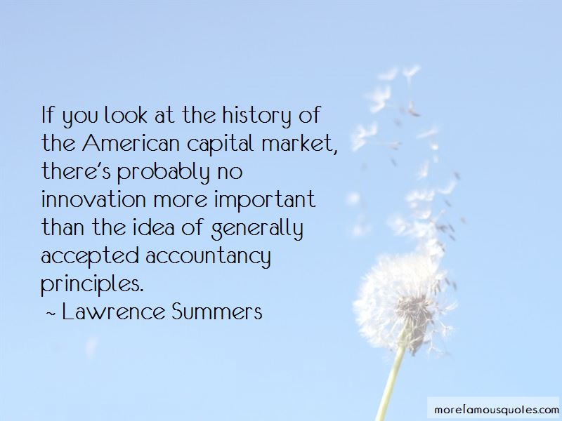Quotes About Capital Market
