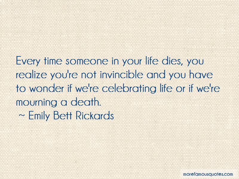 Celebrating Life Not Death Quotes Pictures 3