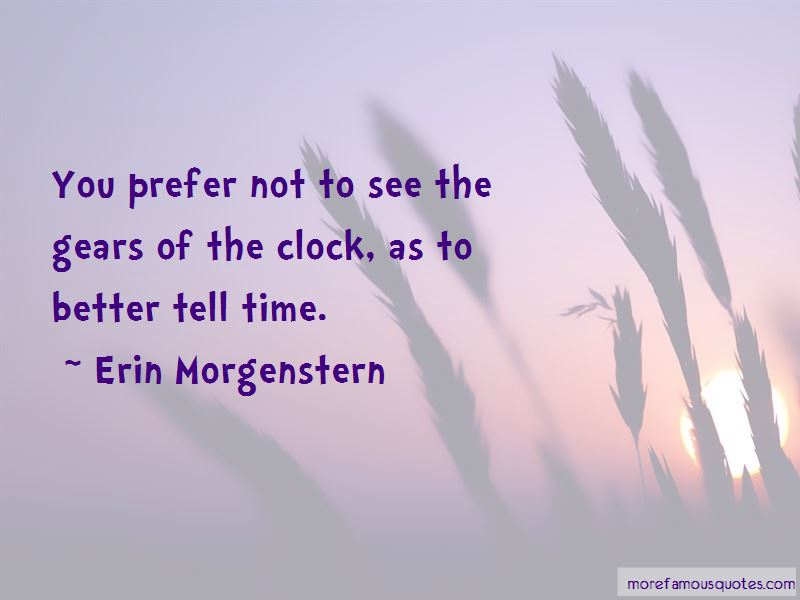 Quotes About Clock Gears