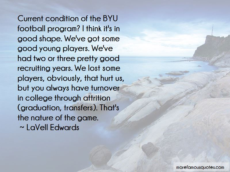 Quotes About College Football Players