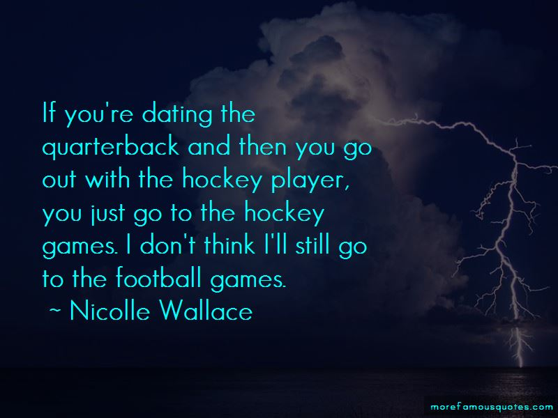 Quotes About Dating A Hockey Player