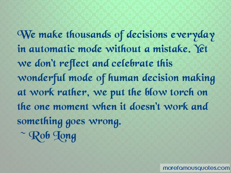 Quotes About Decision Making In Work