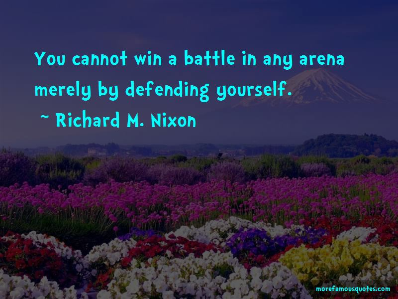 Defending Yourself Quotes Pictures 2