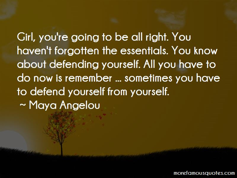Defending Yourself Quotes Pictures 3