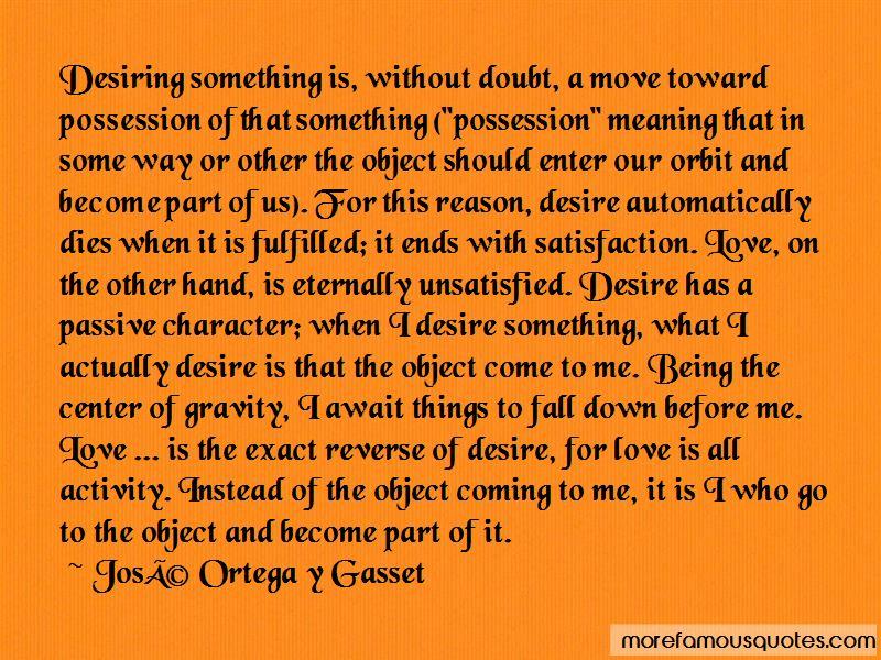 Quotes About Desiring Something