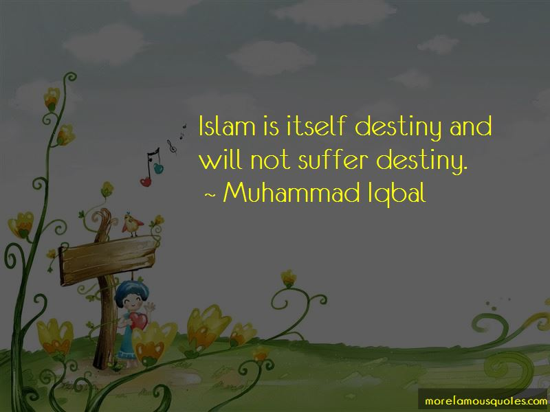 Quotes About Destiny In Islam