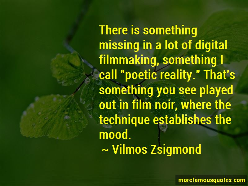 Quotes About Digital Filmmaking