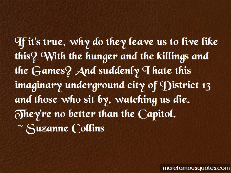 Quotes About District 12 In Hunger Games