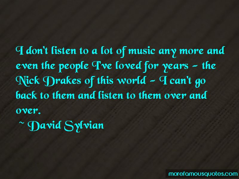 Quotes About Drake's Music