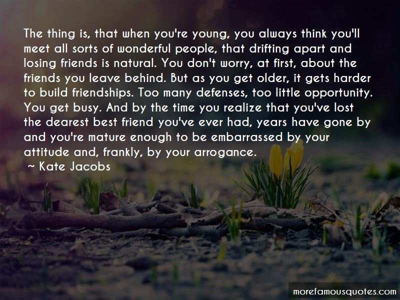quotes about drifting apart from your best friend top drifting