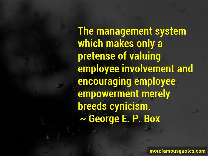 Quotes About Employee Involvement