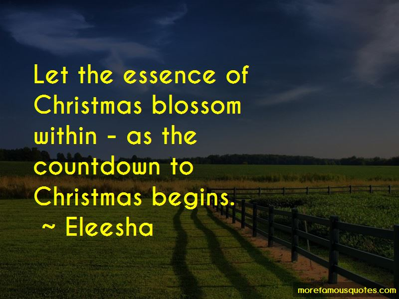 Quotes About Essence Of Christmas