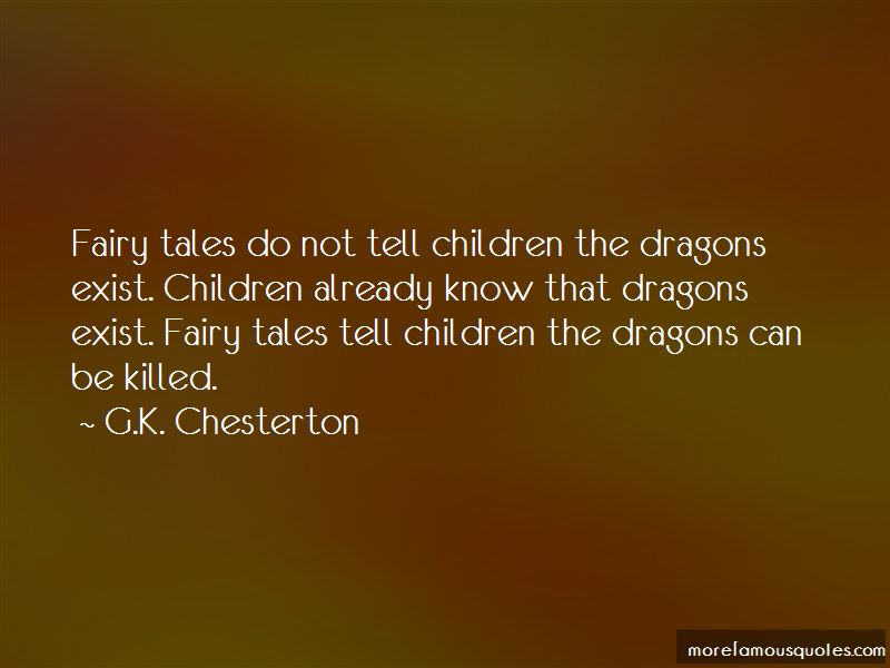 Fairy Tales And Dragons Quotes Pictures 3