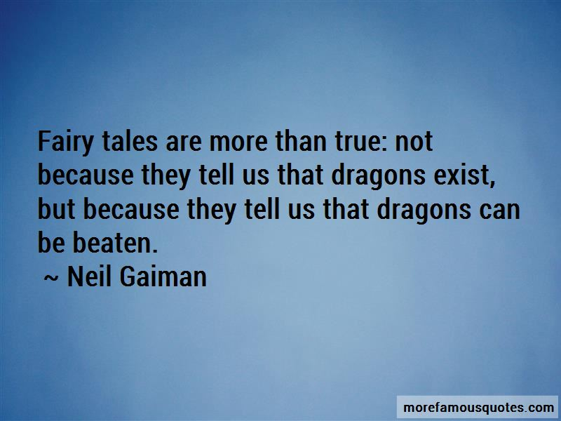 Fairy Tales And Dragons Quotes Pictures 4