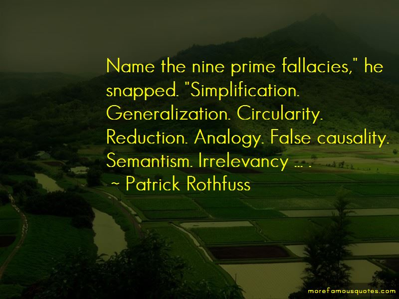 False Analogy Quotes Pictures 4