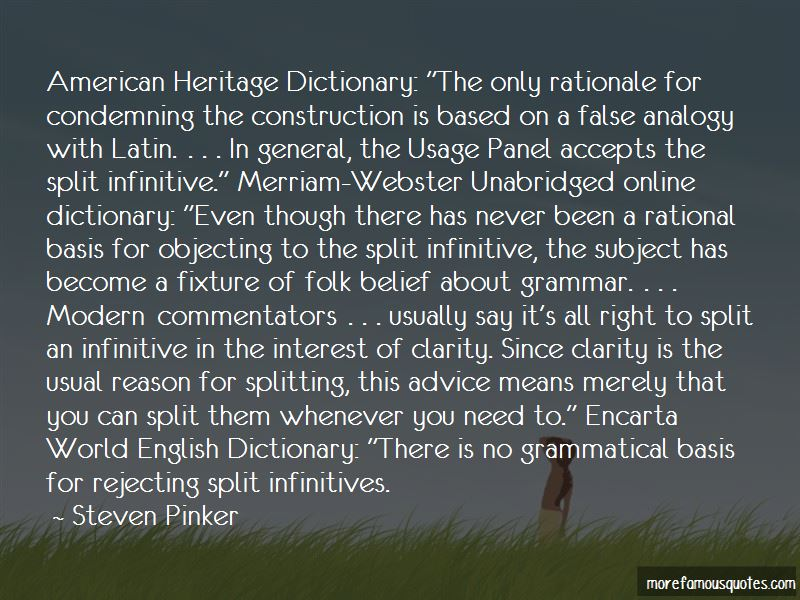 Quotes About False Analogy