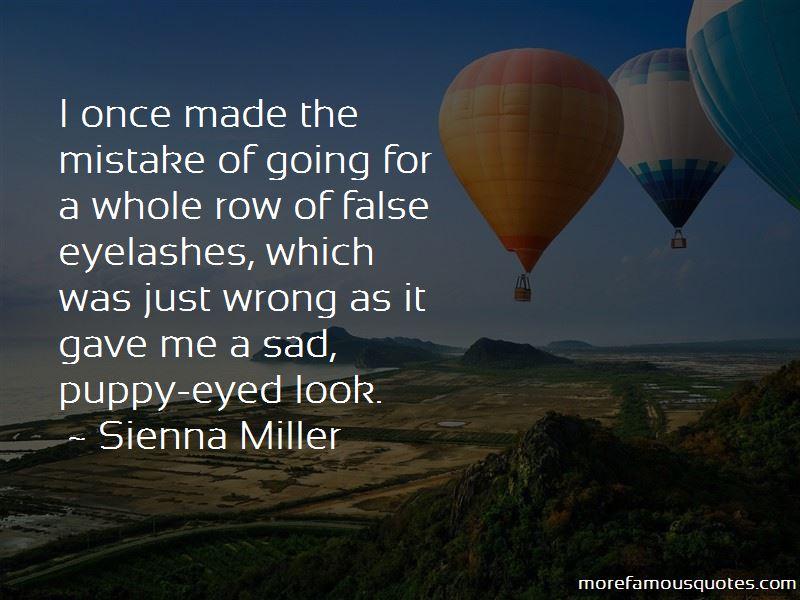 Quotes About False Eyelashes