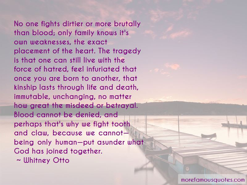 Family And Blood Quotes Pictures 4