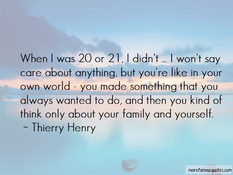 Quotes About Family And Yourself