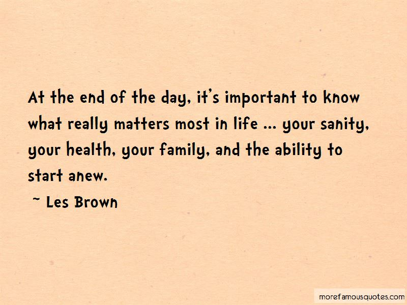 Quotes About Family Matters Most. U201c