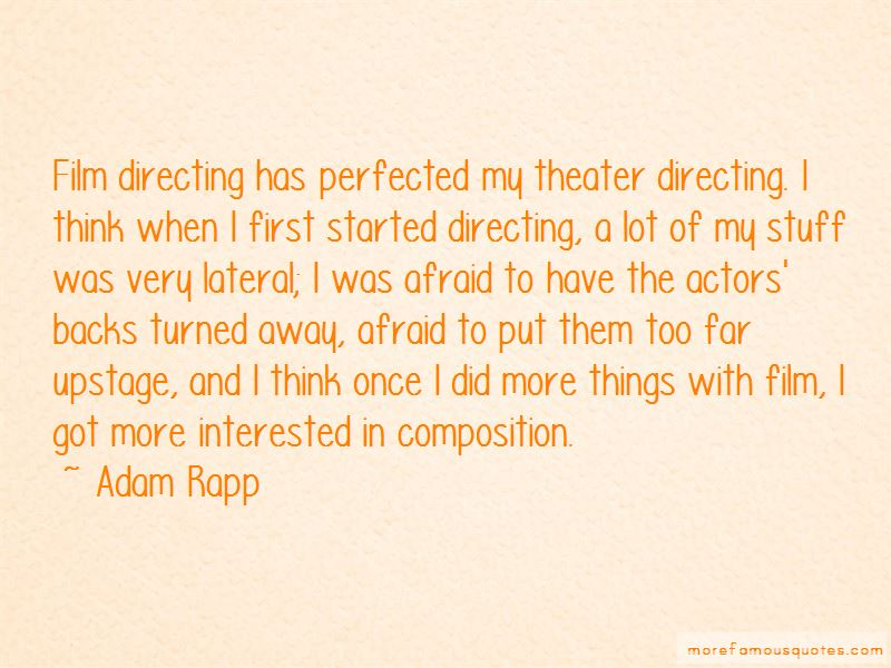 Film Directing Quotes Pictures 2