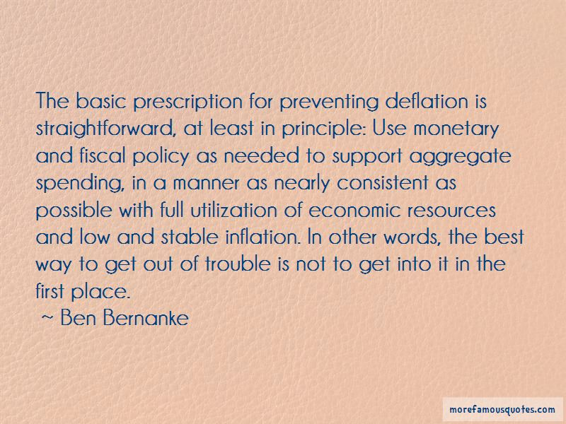 Quotes About Fiscal Policy