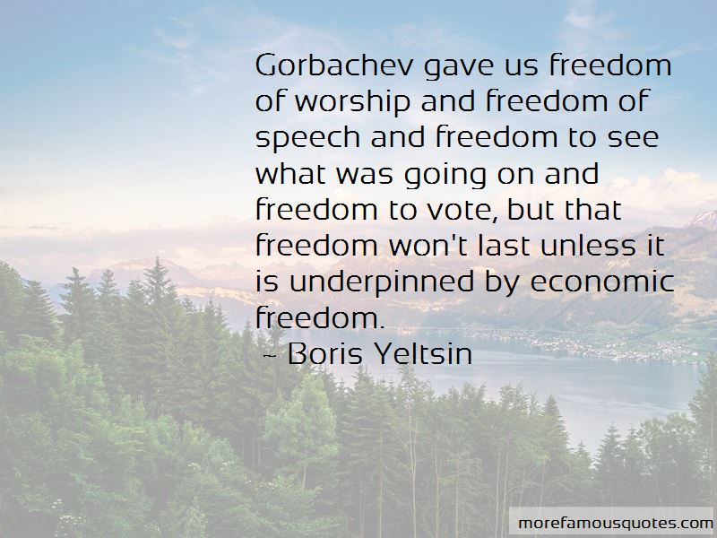 Quotes About Freedom To Vote