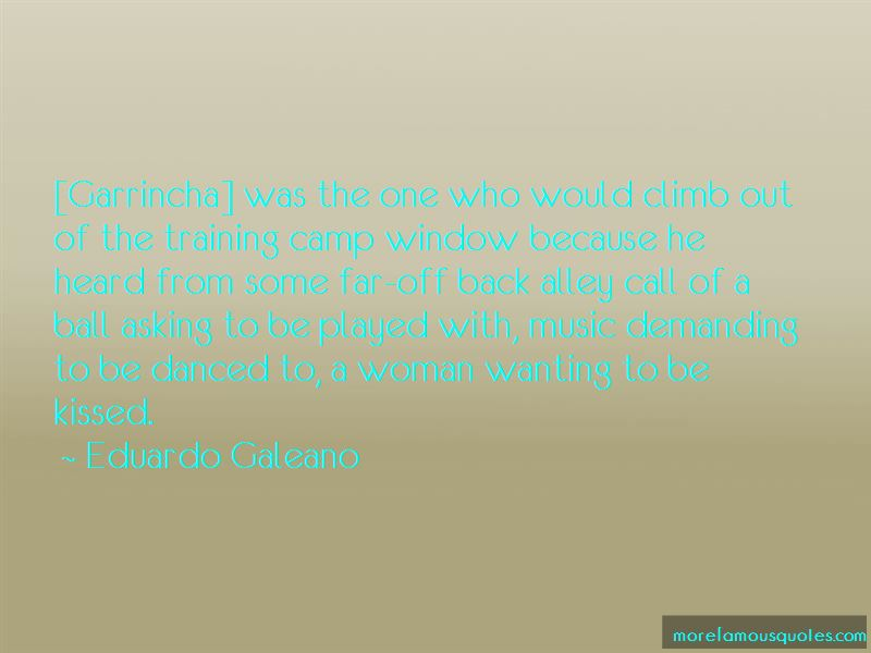 Quotes About Garrincha