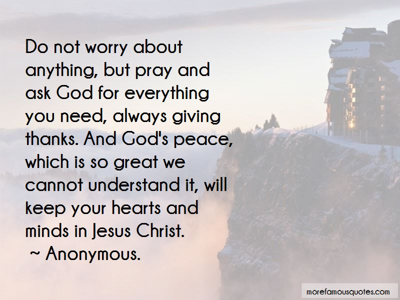 God Giving You Peace Quotes Pictures 2