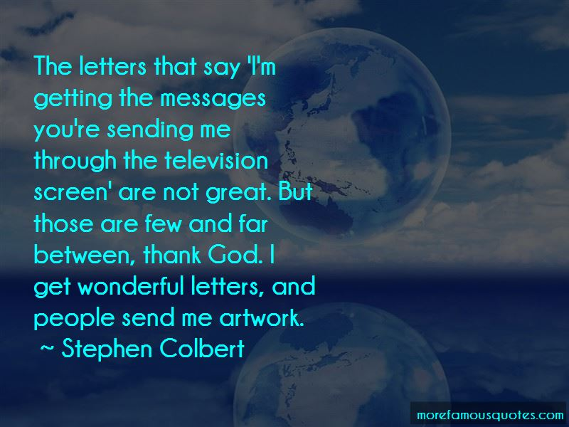 Quotes About God Sending Messages