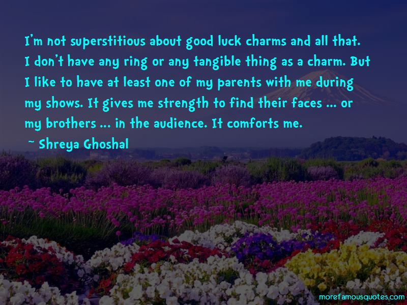 Quotes About Good Luck Charms
