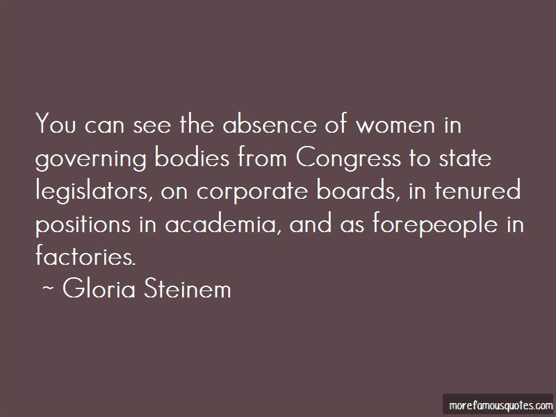 Quotes About Governing Boards