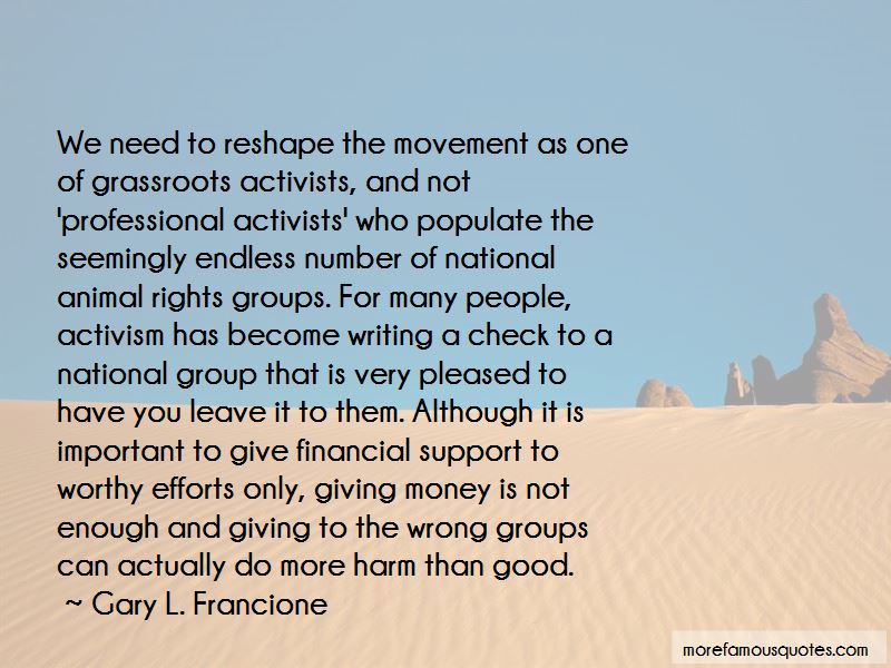 Grassroots Activism Quotes Pictures 2
