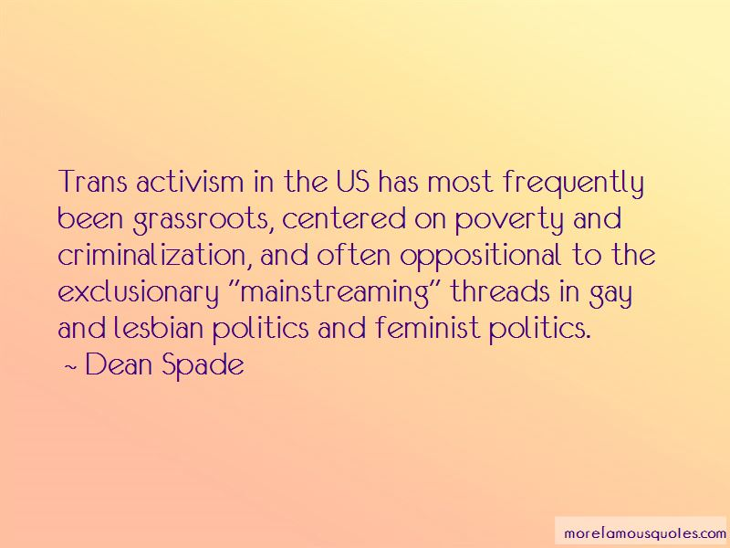 Quotes About Grassroots Activism