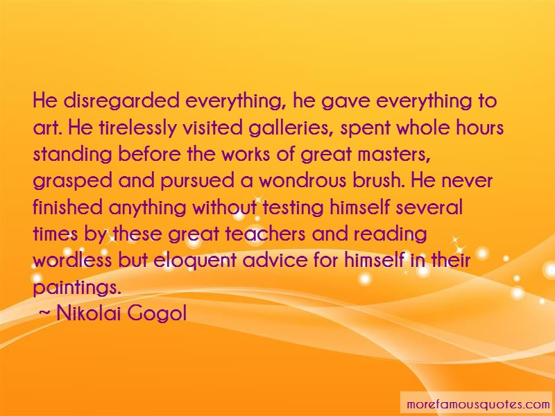 Quotes About Great Art Teachers