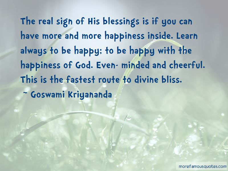 Quotes About Happiness Of God