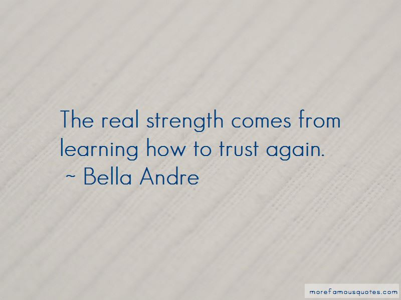 Quotes About How To Trust Again