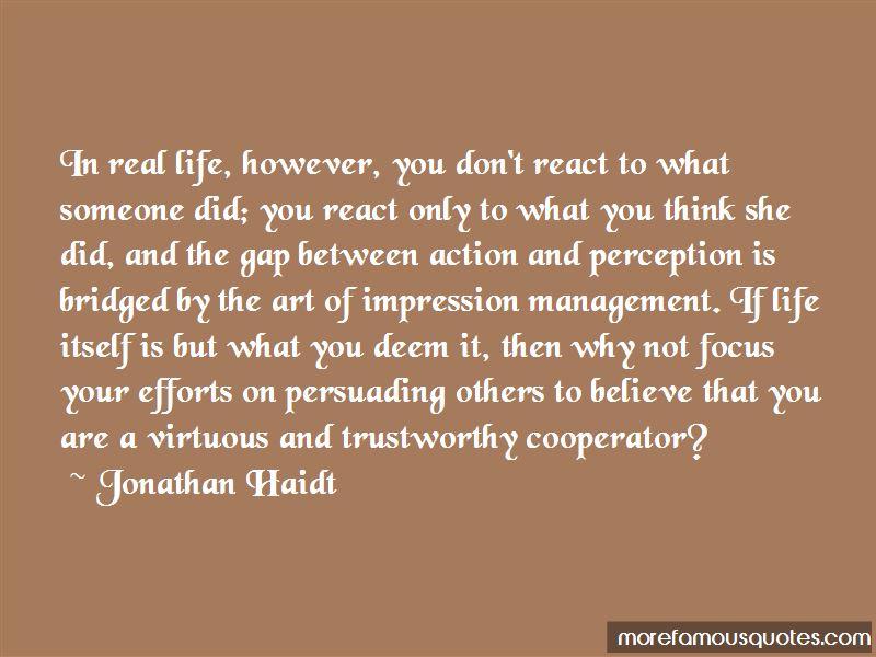 Impression Management Quotes Pictures 2