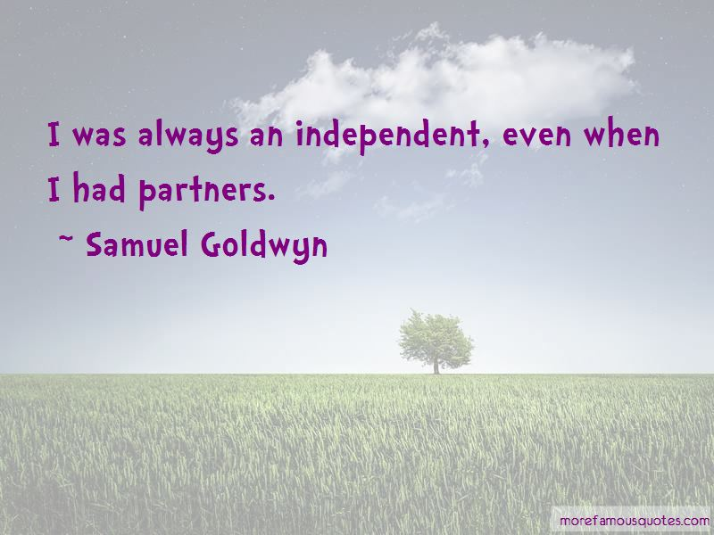 Quotes About Independent