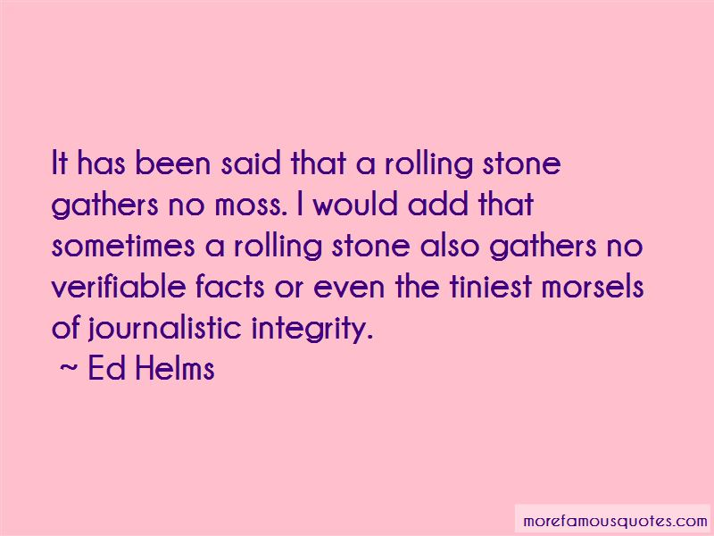 Journalistic Integrity Quotes Pictures 2