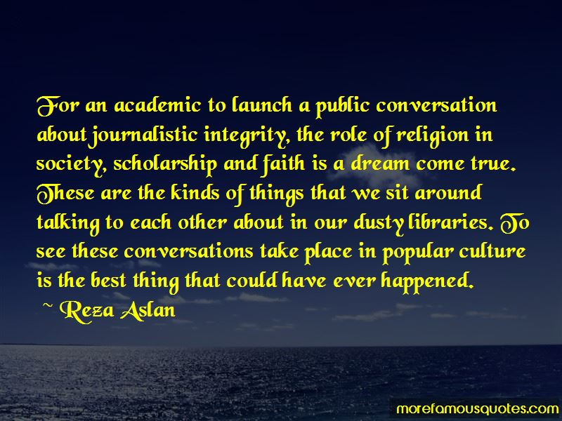Quotes About Journalistic Integrity
