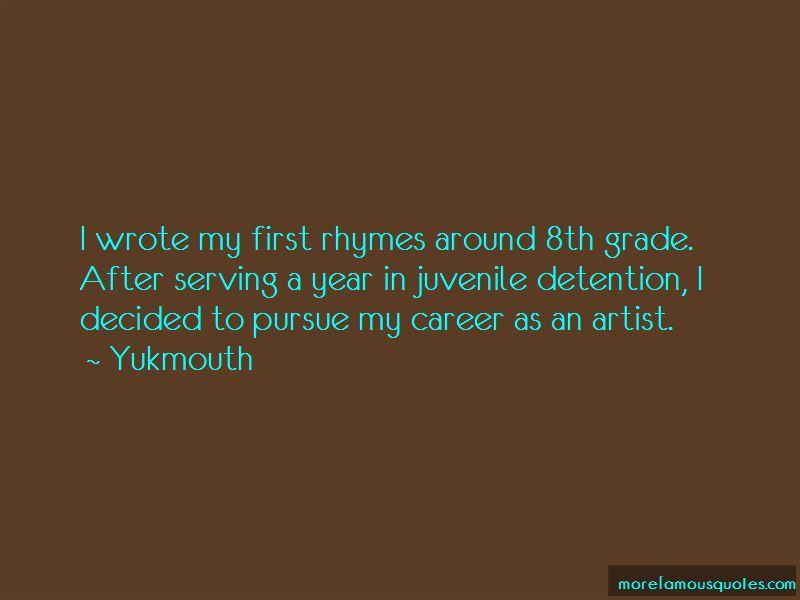 Quotes About Juvenile Detention