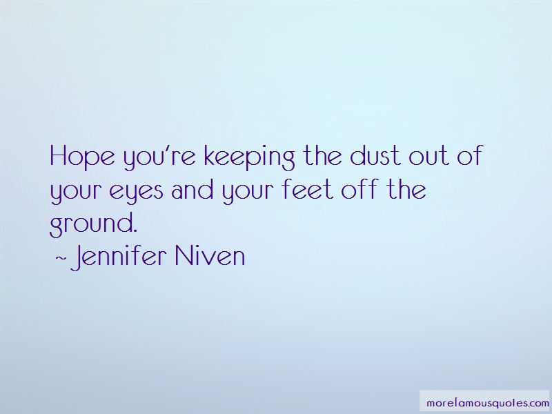 Keeping Feet On The Ground Quotes Pictures 2