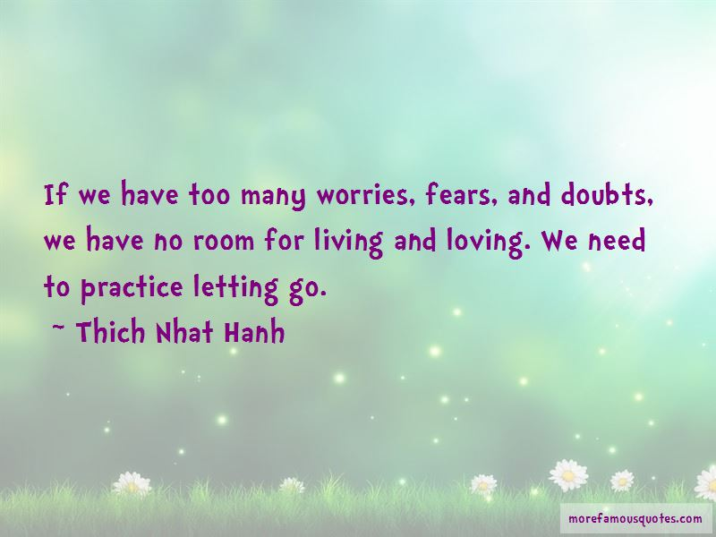 Quotes About Letting Worries Go