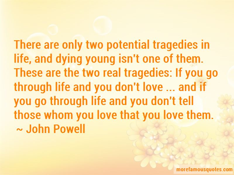 Quotes About Life And Dying Young