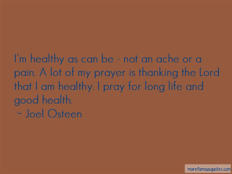 Quotes About Life And Good Health