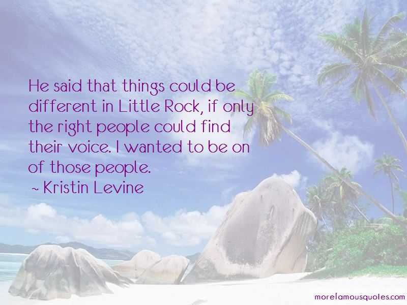 Quotes About Little Rock