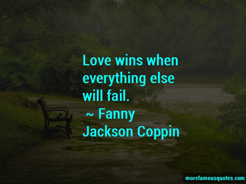 Quotes About Love Wins