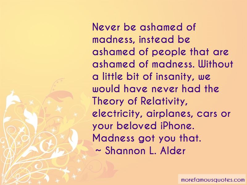 Madness And Insanity Quotes Pictures 4