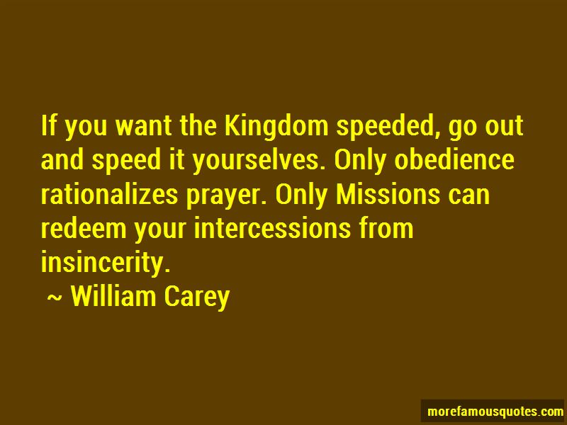 Quotes About Missions And Prayer